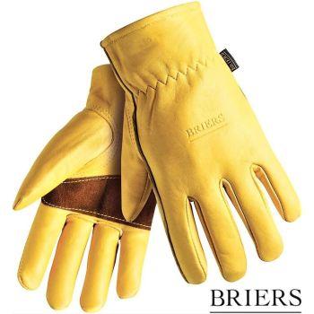 Briers Golden Leather Premium Hardwearing Gardening Gloves