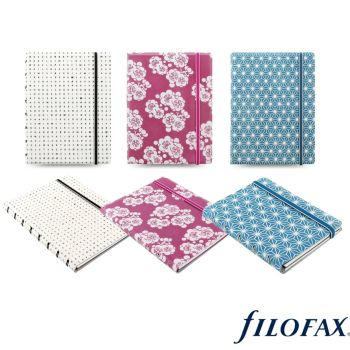 Filofax Impressions A5 Notebook - Choice Of Colours