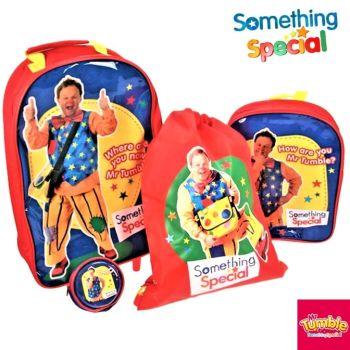 Something Special Mr Tumble Children Luggage Set