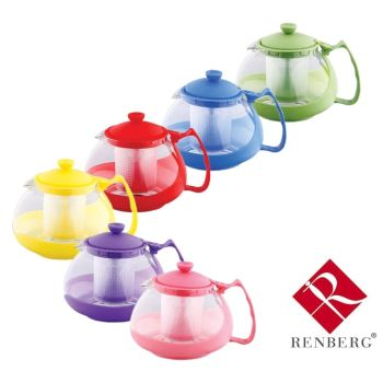 Renberg Oslo Glass Teapot With Filter - 750ml