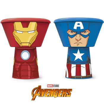 Marvel Avengers 3 Piece Stacking Meal Set