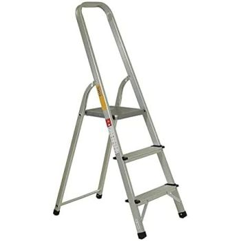 Aluminium 3 Step Anti-Slip Folding Step Ladder