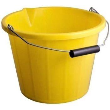 Builders Bucket Plastic 3 Gallon 14 Litre