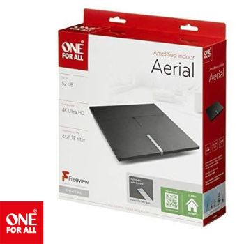 One For All Amplified Indoor Digital TV Aerial SV9490