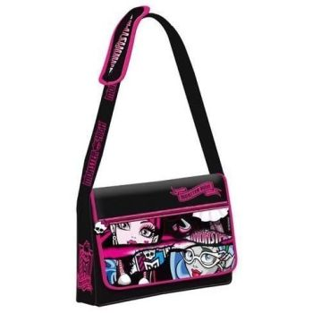 Monster High Girls Ladies Woman Messenger Bag School College Satchel