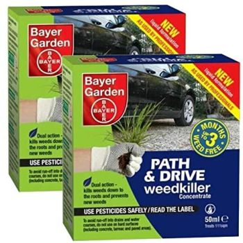 Bayer Garden Path & Drive Weedkiller Concentrate