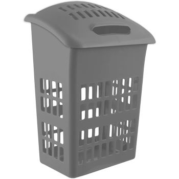 Laundry Hamper Basket Cloth Washing Storage Bin with Lid