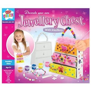 Decorate Your Own Jewellery Chest/Box