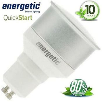 Energetic 7w GU10 ENERGY SAVING Refflector Warm White Light Bulb