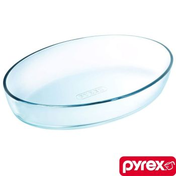 Pyrex Essentials Large 4L Oval Roaster