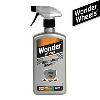 Wonder Wheels Fabric Upholstery Sealant Spray 500ml for Car & Home Upholstery