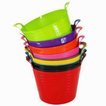 42 Litre Flexi Tub Garden Storage Container Bucket