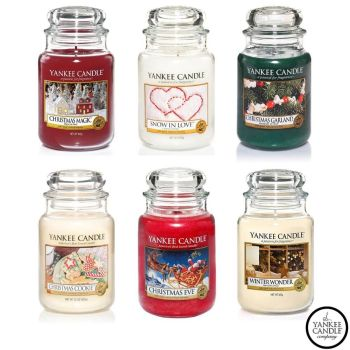 Yankee Candle Christmas Assortment Medley - Classic Signature Christmas Scents