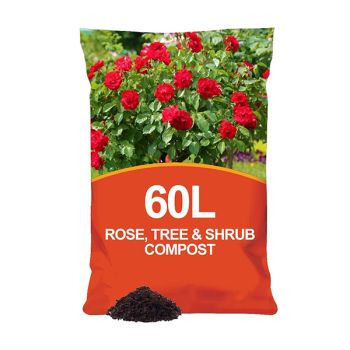 Specially Formulated Rose, Tree & Shrub Compost