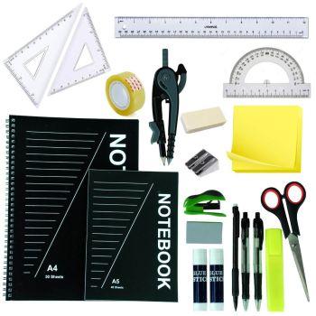 20 Piece Oxbridge Pen & Gear Stationery Set & Carry Case