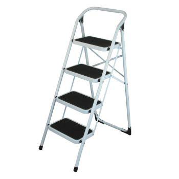 4 Step Non Slip Safety Ladder
