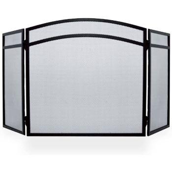 Hampton Fire Guard - Arched 3 Panel Folding Design