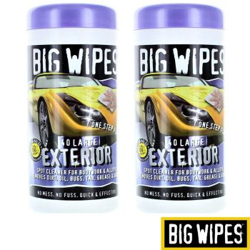 Big Wipes Auto Spot Cleaner Wipes