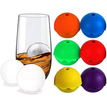 Silicone BPA Free XL Ice Ball Moulds