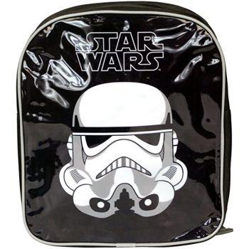 Official Star Wars Childrens Boys Bag Junior Black Backpack