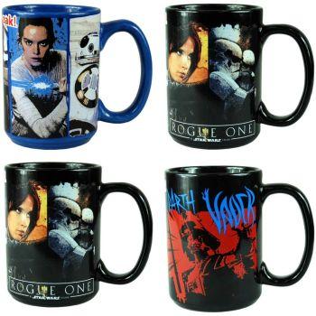 Star Wars 4PC Large 455ml Ceramic Mug Set