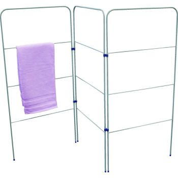 3 Fold Laundry and Towel Gate Airer