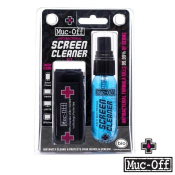 Muc-Off Anti-Bacterial Screen & Laptop Cleaning Kit