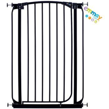 Emmay Care® Children Stair Doorway Pressure Mount Metal Safety Gate