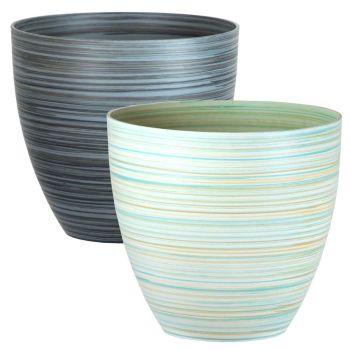 Serenity Rings Plastic Planter - Multi Buy Sets