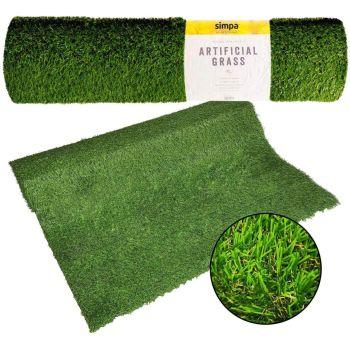 Quality Non Fade Artificial Grass Pile Roll -  Astro Turf Fake Lawn