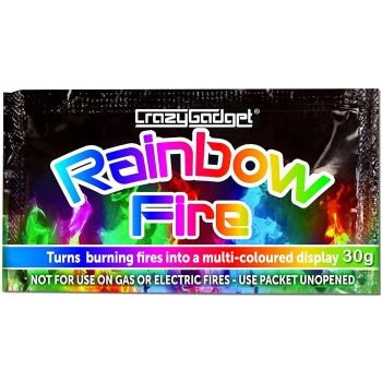 Rainbow Fire Mystical Coloured Flame