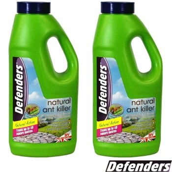 2 X Defenders Ant & Crawling Insects Natural Pest Control Treatment 600g