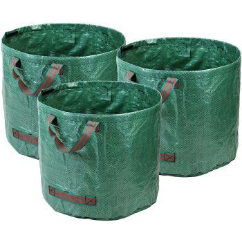 Heavy Duty Garden Bags - Durable PP Woven Fabric