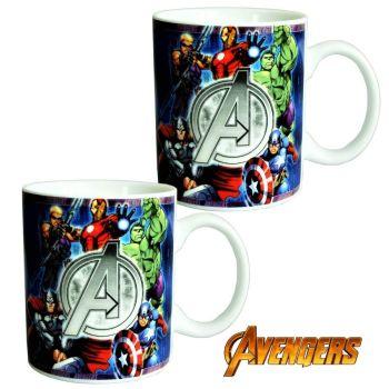 Marvel Avengers Ceramic Mug - Pack Of Two