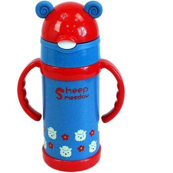 Stainless Steel Travel Mug Water Thermos Animal Kids Flask