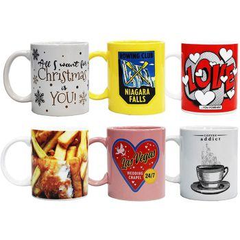 Assorted Selection of Novelty Porcelain Mugs