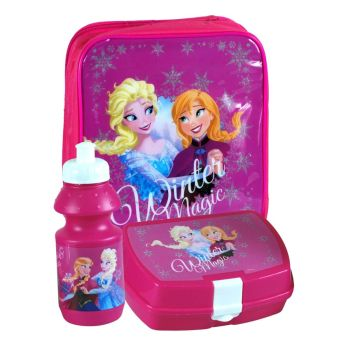 Lunch Bag Case with Sandwich Box and Drinking Bottle Set