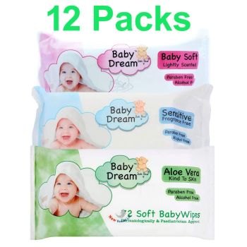 Baby Dream Baby Soft Baby Wipes