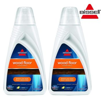 Bissell Wood Floor Cleaning Formula 1 Litre - Lemon Fragrance