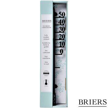 Briers Weather Resistant Indoor/Outdoor Kingsbury Thermometer