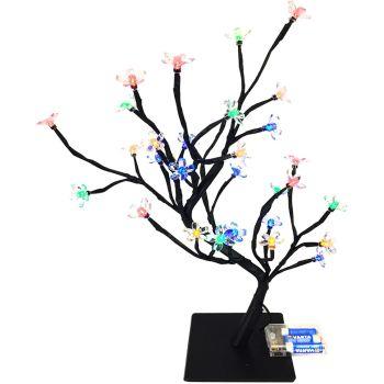 Cherry Blossom Bonsai Style Tree Lamp
