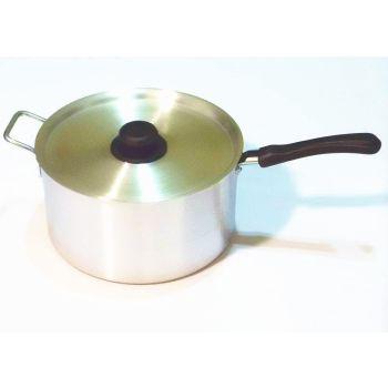 Casserole Aluminium Cooking Pan With Plastic Handle