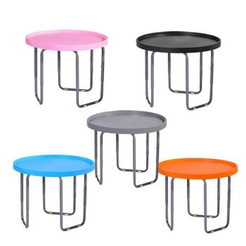 Tuff Spot Children's Round Utility Mixing Play Tray Table - With Height Adjustable Stand