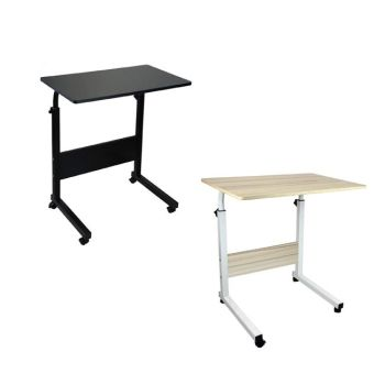 Height Adjustable Mobile Table Workstation Laptop Overbed Multi Table