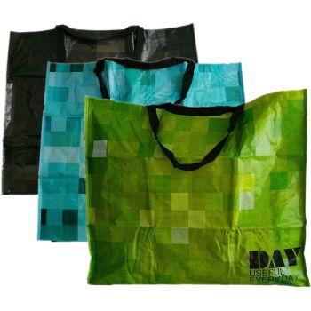 Extra Large Jumbo Laundry Washing Cloth Storage Shopping PVC Bag Strong Reusable