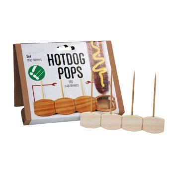 Hotdog Pops - Disposable BBQ Snap Skewers - 60 Skewers