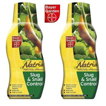 Bayer Garden Natria Naturally Effective Slug And Snail Control 350g - Multi Buy