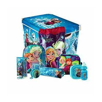 Frozen 8PC Back to School Bundle & Storage Box Set