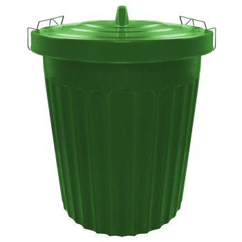 100 Litre Extra Large Green Plastic Bin
