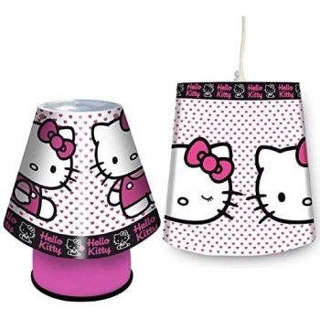 Hello Kitty Prime Lamp and Shade Set